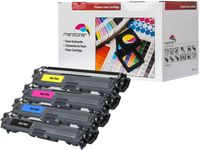 Merotoner® 4 Toner Kompatibel zu Brother TN241- TN 245 MFC-9142CDN