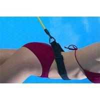 Schwimmtrainer Gürtel Schwimmwiderstand Tether Pool Schwimmtrainingshilfegurt Größe 6mm*9mm*4m