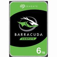 Seagate Barracuda 6TB - 3.5 Zoll - 6000 GB - 5400 RPM