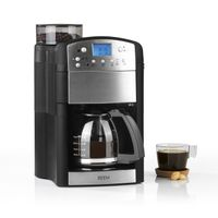 Kaffeemaschine Mahlwerk 10 Tassen Filterkaffee Kaffee Timer Warmhalteplatte BEEM