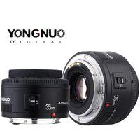YONGNUO YN35 35mm F2 Objektiv 1: 2 AF/MF-Weitwinkel-Fest/Prime Autofokus-Objektiv für Canon EF Befestigung EOS Kamera