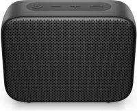 HP Bluetooth-Lautsprecher 350 (schwarz), Kabellos, USB Typ-C, Tragbarer Mono-Lautsprecher, Schwarz, Rechteck, Tasten