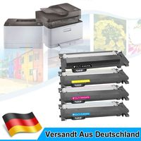 4er Toner Multipack Toner XXL für Samsung Xpress CLT 404 C430 C430W C480 C480FN C480FW Drucker