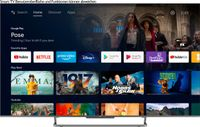 TCL 75C728X1 QLED-Fernseher (189 cm/75 Zoll, 4K Ultra HD, Android TV, Android 11, Onkyo-Soundsystem, Gaming TV)