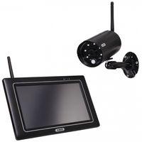 Abus OneLook Videoüberwachungsset Full HD Funk-Außenkamera (IP66) 7 Zoll Monitor