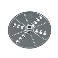 Raspelscheibe Wendescheibe grob/fein für Durchlaufschnitzler Küchenmaschinen ORIGINAL Bosch Siemens 12007726 eingesetzt in MCM MK für grobe oder feine Obst-/Gemüse-Raspeln