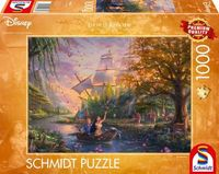 Schmidt Spiele Puzzle 1000 Teile Disney, Pocahontas Erwachsenenpuzzle