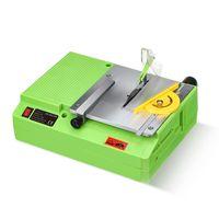 220V 480W Mini tragbare Tischkreissäge Multifunktionales handgefertigtes Holzbearbeitungs-Tischsägen-Schneidwerkzeug