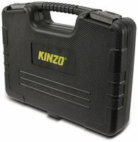 Kinzo Universeller 20-teiliger Werkzeugsatz, Fahrrad-Reparaturset in einem praktischen Werkzeugkoffer, Schwarz