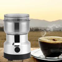Kaffeemühle elektrische Espressomühle Gewürzmühle Zerkleinerer Scheibenmahlwerk Edelstahl