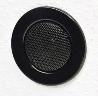 ChiliTec Decken-Einbaulautsprecher Mini Halogen-Look, 8cm Ø, 6cm Einbau, schwarz