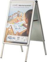 magnetoplan Ersatzfolie Set für Plakatständer SP A1 (2 Folien)