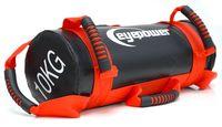 2,5-10 kg Power Bag 17x45 cm Sand Gewichtssack Sandbag CoreTraining Sandsack Rot