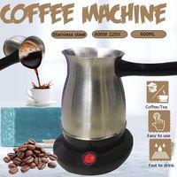 12 Tassen Elektri Türkische Moccakanne Espressokocher Kaffeekocher Kaffeekanne