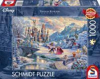 Schmidt Spiele 59671 Thomas Kinkade Die schöne und das Biest Zauberha