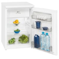 Exquisit Kühlschrank KS 16-4.1  | 118L(103/15)L Fassungsvermögen | Energieeffizenz+ | Weiß
