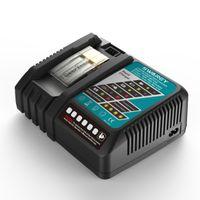 DC18RC Akkuladegerät Für Makita BL1850 BL1815 BL1815N BL1820 BL1820B BL1830 BL1830B BL1835 BL1840 BL1840B BL1845 BL1850B BL1860 BL1860B LXT400 Lithium-Ionen Akku Batterie Ersatzakkus Werkzeugakkus Akku-Werkzeugbatterie