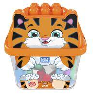 Mega Bloks Tiger Bausteinbox (25 Teile)