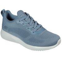 Skechers BOBS Damen Sneaker SQUAD TOUGH TALK Hellblau, Schuhgröße:EUR 39