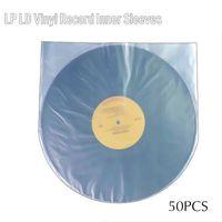 "50x 12"" Antistatische Innenhüllen Für LP Schallplatten | Dynamic 12 Zoll Abrundungen Vinyl Schutzhüllen|  | 307mm x 307mm"