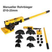 Crenex Manueller Rohrbieger Rohrbiegegerät Rohrbiegemaschine Handrohrbieger Ø10-25 mm für Rohrbiegevorrichtung