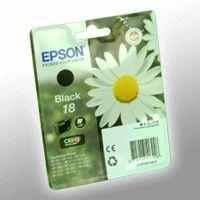 EPSON Epson Inkjet-Druckerpatronen schwarz, 175 Seiten , C13T18014012