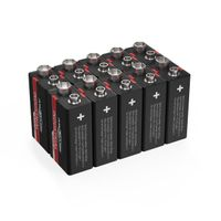 ANSMANN 9V E-Block 6LF61 Alkaline Industrial Batterie Industrie 10er Pack