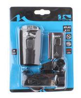 B-Ware M-Wave LED AKKU-Lampenset ATLAS K 11 USB