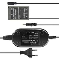 Netzteil mit Akkuadapter für Olympus OM-D E-M10 Mark II, PEN E-P3, E-PL2, E-PL3, E-PL5, E-PL6, E-PL8, E-PL9 - ersetzt BLS-5 - 8,3V 2A