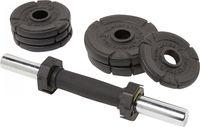 ENERGETICS Kurzhantel-Set Premium 10kg Cast Ir BLACK -