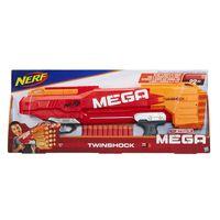 Nerf MEGA Twinshock B9894EU4, Orange/Rot