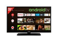 Telefunken D39H500X2CW 39 Zoll Fernseher (Android TV inkl. Prime Video / Netflix, HDR10, HD-ready)
