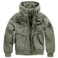 Brandit - Bronx Jacket 3107-1 Olive Jacke Vintage Blouson Army Winterjacke Größe XL