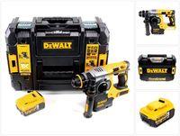 DeWalt DCH 273 NT Akku Kombihammer 18V 2,1J SDS-Plus Brushless + 1x Akku 5,0Ah + TSTAK - ohne Ladegerät