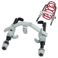 EINFEBEN Universal Federspanner 3-TLG bis 1500kg / 1,5t Federn f. Tieferlegung KFZ Spanner Werkzeug