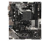 ASRock A320M-HDV R4.0 - AMD - Buchse AM4 - AMD A,AMD Ryzen - DDR4-SDRAM - DIMM - 2133,2400,2667,2933,3200 MHz
