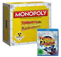 Monopoly Zurück in die Zukunft Collector's Edition (mit Blu-Ray)