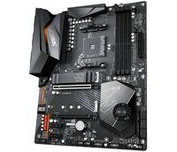 Aorus Ultra Durable X570 AORUS ELITE Desktop-Mainboard - AMD Chipsatz - Sockel AM4 - ATX - 128 GB DDR4 SDRAM Maximaler Arbeitsspeicher (RAM) - DIMM, UDIMM - 4 x Speichersteckplätze - Gigabit-Ethernet - HDMI-Kabel - 6 x SATA-Schnittstellen