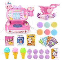 1 Satz elektronisches Registrierkassen-Spielzeug