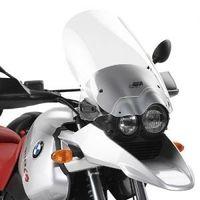 GiVi Windschild transparent, 485 mm hoch, 366 mm breit für BMW R 1150 GS (00-03), mit ABE u.Kantenschutz