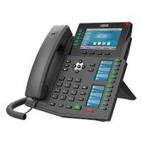 Fanvil X6U - Schwarz - Kabelgebundenes Mobilteil - Wired - Wireless - LCD - 480 x 272 Pixel