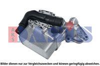 AKS DASIS Ölkühler Motoröl für NISSAN NV400 Kasten für OPEL VIVARO Kasten F7