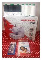 Gritzner Overlock 788-LED CreArtista Ovi-Plus Black&White-Edition
