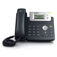 Yealink SIP-T21P E2 - Schwarz - Kabelgebundenes Mobilteil - Tisch/Wand - LCD - 132 x 64 Pixel - 1000 Eintragungen