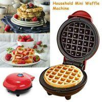 Mini Waffeleisen Waffelautomat Waffelmaker Antihaft Elektrogrill Waffle Maker