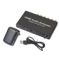 HDMI Audio Extractor Unterstützung 5.1ch 4k 3D HDMI Audio Splitter Adapter