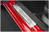 Edelstahl Exclusive Einstiegsleisten für Skoda Fabia 3 Typ NJ Bj. 2014-