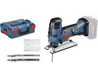 Bosch GST 18 V-LI S Profi-Akku-Stichsäge, 120 mm Schnitttiefe, variable Geschwindigkeit, Pendelhub