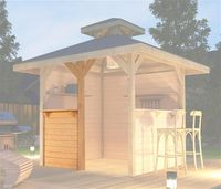 Weka Bausatz Treseneingang für Gartenoase 651 Gr.3