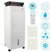 AREBOS 5in1 Aircooler  Luftkühler Luftreiniger Luftbefeuchter Ionisator Ventilator  mit Mückenschutz 5,5L